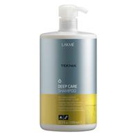Lakme Teknia Deep care shampoo - шампунь восстанавливающий, для сухих или поврежденных волос 1000 млСредства для ухода за волосами<br><br>