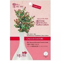 Mijin Cosmetics BSC Essence Mask Resurrection Plant - Маска тканевая миротамнус 25 г
