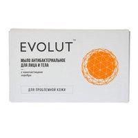 Evolut Soap - Антибактериальное для лица и тела с наночастицами серебра 20 г