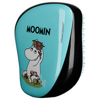 Tangle Teezer Compact Styler Moomin Blue - Расческа для волос муми-голубая