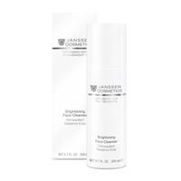 Janssen Supreme Secrets Brightening Face Cleanser - Осветляющая очищающая эмульсия 200 млСредства для ухода за волосами<br>Обогащенная очищающая эмульсия для особо требовательной кожи всех типов. Водорастворимая эмульсия быстро, легко удаляет макияж и загрязнения. Экстракт корней шелковицы освежает и слегка осветляет тон кожи уже на стадии очищения. Легко наносится, приносит ощущение чистоты и свежести,подготавливает кожу к последующему уходу.Применение:Наносите Brightening Face Cleanser на кожу лица и шеи утром и вечером, помассируйте круговыми движениями. Смойте большим количеством теплой воды или снимите влажными компрессами. В салоне использовать согласно регламенту процедур.Активные компоненты:Экстракт шелковицы и активные очищающие компоненты.Объем:200 мл<br>