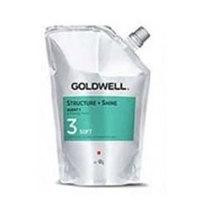 Goldwell Stright And Shine Agent 3 Soft - Смягчающий крем для чувствительных окрашенных или осветленных волос 400 мл