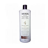 Nioxin Scalp Revitaliser System 4 - Увлажняющий кондиционер (Система 4) 1000 млКондиционеры для волос<br>Увлажняющий кондиционер из Системы 4 от Ниоксинпредназначен для волос, которые поддались химической обработке и склонны к выпадению. Средство насыщает волосы влагой и энергией, а также смягчает кожу головы и снимает раздражения. Кондиционер от Ниоксин подходит для ежедневного применения, и каждый день балансирует и нормализует состояние ваших волос.Применение:Нанесите небольшое количество кондиционера от Nioxin на очищенные влажные волосы и смойте через 3 минуты.Объём:1000 мл<br>