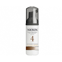Nioxin Scalp Treatment System 4 - Питательная маска (Система 4) 100 млМаски для волос<br>Питательная маска от Nioxin Система 4предназначена для редеющих волос, которые поддались химической обработке. Средство глубоко и интенсивно питает волосы и кожу головы, насыщая их полезными веществами. Также маска от Ниоксин защищает волосы от негативного воздействия внешней среды.После применения питательной маски от Nioxin волосы становятся эластичными и шелковистыми, они блестят и выглядят здоровыми и красивыми.Применение:Нанесите небольшое количество маски от Ниоксин на чистые влажные волосы и распределите от корней до кончиков. Не смывайте средство.Объём:100 мл<br>
