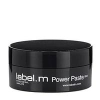 Label.M Power Paste - Паста Текстурирующая 50 млУкладочные средства<br>Текстурирующая паста – отличное решение для мужских и женских укладок. Позволяет создавать стильные структурированные прически. Обеспечивает уход за волосами и термозащиту.LABEL M Паста текстурирующая POWER PASTE, 50 мл<br>