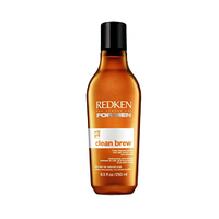 Redken For Men Clean Brew - Oчищающий шампунь для ежедневного применения с солодом и пивными дрожжами 250 млШампуни мужские<br>FOR MEN CLEAN BREW Новый Шампунь для мужчин с Солодом и Пивными Дрожжами для глубоко очищения и оздоровления кожи головы.После использования шампуня волосы становятся более упругими и крепким. Кожа головы не пересушивается. Для волос нормального и жирного типа. Подходит как для коротких , так и волос средней длинны.Как использоватьРавномерно нанести на влажные волосы. Вспенить. Тщательно смыть. При необходимости повторить<br>