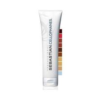 Sebastian Laminates Cellophanes Clear - Тонирующая краска с кондиционирующим эффектом Чистый блеск для волос «Прозрачный» 300 млКраска для волос<br>Тонирующая краска Сellophanes Clear Чистый блеск для волос «Прозрачный»- стойкая прозрачная тонирующая краска для цветового нюансирования волос, не содержит спирта, аммиака и перекиси водорода. Тонирующая краска Сellophanes Clear Чистый блеск для волос «Прозрачный» подходит для любого цвета волос и создает стойкий, чистый, глубокий цвет со сверкающим блеском.Тонирующая краска Cellophanes даёт очень сильное белковое восстановление для волос, придаёт восхитительный блеск, который сохраняется до 4 недель, также имеет глубокое кондиционирующее действие. Основа краски – соевые протеины, которые укрепляют структуру волос, покрывая каждый волос защитной пленкой, делают волосы объемными, усиливают блеск. Тонирующую краску Cellophanes можно благополучно и эффективно наносить в день любого химического процесса. Это оживит поврежденную кутикулу, восполнив содержание протеина, придаст цвету глубину, свежесть и сияющий блеск вашим волосам.Результат:Стойкий, яркий, блестящий цвет до 4-6 ярких недель.Способ применения:Вымыть волосы шампунем и подсушить полотенцем на 75%. Равномерно нанести на волосы краску, отступая 3-5 мм от кожи головы. Надеть пластиковую шапочку и использовать климазон или сушуар в течение 15–20 минут. Снять шапочку, дать волосам остыть, смыть краску водой. Использовать шампунь и кондиционер.Объём:300 мл<br>