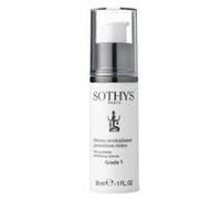 Sothys Time Interceptor First Wrinkles Revitalizing Serum Grade 1 - Сыворотка Anti-Age ревитализирующая Grade 1 30 млСредства для ухода за волосами<br>Эффективно уменьшает мимические морщины, способствует восстановлению клеток кожи, защищает и наполняет ее энергией. Регенерирует,улудшает внешний вид,придавая коже гладкость и сияние. Доказанная эффективность: 40% уменьшение мимических морщин (подтверждено клиническими исследованиями); 94% испытуемых заметили ,что кожа улудшилась внешне и стала сиять (субъективная оценка).*Результаты теста 30-ти дневного независимого клинического исследования. Проценты отражают мнение 18 добровольцев , согласившихся с утверждениями.Активные компоненты:Уникальный комплекс H2CR™, в составе которого мощные антиоксиданты и пептиды-мессенджеры увеличивает количество здоровых клеток в дерме, надежно защает от оксидативного стресса и улучшает межклеточную связь для пролонгированной нормализации функций кожи.Рибоза (сахар, полученный из зерен пшеницы) наполняет энергией клетки кожи. Экстракт хлопка прекрасно и эффективно увлажняет, при этом кожа становится более мягкой ,успокаивает.Комплекс Filagrinol ( масло пшеницы, сои и оливы и экстракт пыльцы,) наполняет кожу необходимыми питательными веществами, моментально увлажняет и смягчает , делая кожу упругой, свежей и сиянющей.Способ применения:Наносите каждый день, утром и вечером, на кожу лица и шеи, следуя массажным линиям. Курс омолаживания длится 1 месяц. Следующий курс следует повторить через 3 месяца.Объем:30 мл<br>