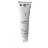 Sothys Nutritive Line Nutritive Comfort Cream - Реструктурирующий питательный крем 150 млКрема для лица<br>Кожа лица старится быстрее, чем на остальных зонах, из-за сильной подверженности внешним негативным факторам. Предотвратить старение и вернуть лицу сияющую красоту поможет реструктурирующий Крем Nutritive Comfort Cream от Sothys. Комплекс Nutri-omega 3.6.9 обладает мощным противовоспалительным и антиоксидантным свойствами. Omega-кислоты являются строительным материалом для всех структур дермы, обеспечивают питание глубоких слоев кожи, насыщают, увлажняют, уплотняют и выравнивают поверхность кожи.Благодаря полисахаридам, полученным биотехнологическим путем из дрожжей, эффективность барьерной функции кожи заметно возрастает, создаются благоприятные условия для ключевых моментов синтеза коллагена. Комплекс Hydra-nourishing поддерживает оптимальный уровень увлажнения кожи, смягчает и насыщает ее жизненно важными питательными веществами. Альфа-бисаболол успокаивает чрезмерную чувствительность сухой кожи, ускоряет естественные процессы заживления. Витамин Е питает, смягчает, снимает микровоспаления, улучшает кровообращение в капиллярах, а также является одним из самых мощных антиоксидантов, предотвращая увядание кожи. Кожа становится шелковистой и сияет ухоженностью.Активные компоненты:биомиметический комплекс Nutri-omega 3-6-9, полисахариды, полученные биотехнологическим путем из дрожжей Pichia anomala, комплекс Hydra-nourishing, альфа-бисаболол, витамин Е.Способ применения:При хронической сухости кожи используйте Крем Nutritive Comfort Cream ежедневно утром и вечером. При временной сухости (из-за смены сезонов, стресса) применяйте по мере необходимости утром и/или вечером.Объем:150 мл<br>