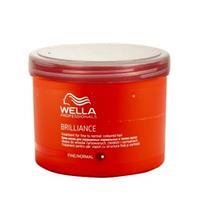 Wella Brilliance Line - Маска для окрашенных нормальных и тонких волос 500 мл