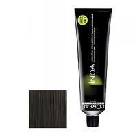 LOreal Professionnel INOA ODS2 - Краска для волос ИНОА ODS 2 без аммиака 4.0 шатен натуральный 60 млКраска для волос<br>Технология ODS2 - усиленное покрытие седины до 100%. 6 недель интенсивного увлажнения +50% блеска.Краска Иноа не имеет запаха и не содержит аммиака, вследствие чего она не имеет неприятного запаха и не оказывает на волосы и кожу головы негативного раздражающего и разрушающего воздействия.L`oreal Professionnel Inoa мгновенно смешивается, быстро наносится, и обеспечивает во время окрашивания полный комфорт.Обеспечивает глубокий уход за волосами.Волосы после окрашивания остаются такими же гладкими и эластичными, как и до него.Питательные и защитные компоненты, которые входят в состав краски Inoa, обеспечивают превосходный уход.Восполняя в волосе недостаток аминокислот и липидов, краска Inoa гарантирует, что волосы после ее использования будут выглядеть толще и здоровее.Краска Inoa обеспечивает волосам бесконечно долгий цвет.Вы получаете точные прогнозированные оттенки.Краска позволяет окрашивать и осветлять волосы до 3-х тонов, совершенно не портя их.Объем: 60 мл<br>