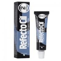 RefectoCil - Краска для бровей и ресниц черно-синяя 15 млКраска для бровей и ресниц<br>Универсальная краска RefectoCilдля окрашивания бровей и ресниц. Она идеально подходит для женщин со светлым цветом волос и предпочитающих натуральный стиль в макияже, очень практична в применении и позволяет в процессе смешивания получать дополнительные оттенки. Данная краска является качественным сертифицированным продуктом, она гипоаллергенна и не вредит волоскам. Материал экономен в использовании, а фасовки хватает не менее чем на 30 процедур.<br>