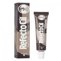 RefectoCil - Краска для бровей и ресниц коричневая 15 млКраска для бровей и ресниц<br>Универсальная краска для окрашивания бровей и ресниц. Она идеально подходит для женщин со светлым цветом волос и предпочитающих натуральный стиль в макияже, очень практична в применении и позволяет в процессе смешивания получать дополнительные оттенки коричневого. Данная краска является качественным сертифицированным продуктом, она гипоаллергенна и не вредит волоскам. Материал экономен в использовании, а фасовки хватает не менее чем на 30 процедур.<br>