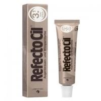 RefectoCil - Краска для бровей и ресниц светло-коричневая 15 млКраска для бровей и ресниц<br>Универсальная краска для окрашивания бровей и ресниц. Она идеально подходит для женщин со светлым цветом волос и предпочитающих натуральный стиль в макияже, очень практична в применении и позволяет в процессе смешивания получать дополнительные оттенки коричневого. Данная краска является качественным сертифицированным продуктом, она гипоаллергенна и не вредит волоскам. Материал экономен в использовании, а фасовки хватает не менее чем на 30 процедур.<br>