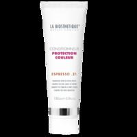 La Biosthetique Protection Couleur Conditionneur Espresso 21 - Кондиционер для окрашенных волос (холодные коричневые оттенки) 150 млКондиционеры для волос<br>Описание продукта: Тонирующие пигменты освежают и сохраняют насыщенность цвета, усиливая интенсивность холодных оттенков коричневого. Кондиционер насыщает волосы влагой, наделяет их великолепным блеском и защищает от выцветания, возникающего вследствие воздействия УФ-лучей.Применение: После мытья равномерно распределить по слегка влажным волосам. Через 1-2 минуты смыть.Объем: 150 мл<br>