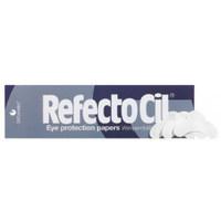 RefectoCil - Лепестки бумажные для окрашивания ресниц 96 штКраска для бровей и ресниц<br>Бумажные лепестки для окрашивания ресниц RefectoCil отлично защищают кожу вокруг глаз от пятен краски во время окрашивания. Лепестки очень удобны в использовании -идеально повторяют форму глаз, не пропускают краску и не требуют дополнительного использования крема.Количество: 96 шт.<br>