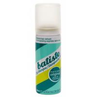 Batiste Revitalize It Original - Сухой шампунь 50 млСухие шампуни<br>Мини-формат обожаемого всеми классического сухого шампуняOriginal.Быстро очищает и освежает волосы. Сухой шампунь устраняет жирность корней, придавая скучным и безжизненным волосам необходимый блеск, без использования воды. Быстро освежает и повышает силу волос, придает телу волоса и текстуру и оставляет ощущение чистоты и свежести.Объем: 50 мл.<br>