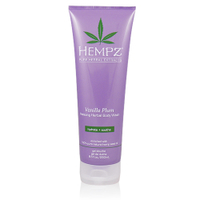 Hempz Vanilla Plum Herbal Body Wash - Гель для душа ваниль-слива 250 млСредства для душа<br><br>
