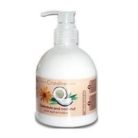 Cristaline Post Epil Emulsion Calendula and coconut - Эмульсия для тела кокосовая последепиляционная 250 мл
