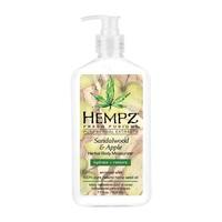 Hempz Sandalwood & Apple Herbal Body Moisturizer - Молочко для тела увлажняющее сандал и яблоко 500 мл