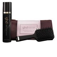 GHD Style - Набор для укладки волос (щетка + термозащитный спрей для волос 120 мл + косметичка)