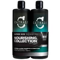Tigi Catwalk Oatmeal & Honey Tweens - Набор для питания сухих и ломких волос (750 мл + 750 мл)