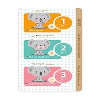 Mijin Cosmetics 3-Step Koala Nose Clear Solution - Набор от черных точек 7 г