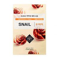 Etude House Et.0.2 Therapy Air Mask Snail - Маска тканевая для лица (улитка) 20 мл