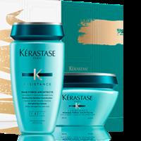 Kerastase Resistance - Новогодний набор 2017 (шампунь-ванна и маска для ломких волос)