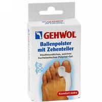 Gehwol Ballenpolster Mit Zehenteiler - Гель-корректор и накладка на большой палец 1 шт