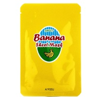 A'pieu Banana  Honey Sheet Mask - Маска для лица тканевая банан и мед 23 г