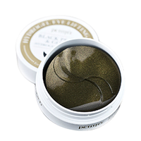 Petitfee Black Pearl & Gold Eye Patch - Патчи для глаз с черным жемчугом и золотом 60*1,4 г