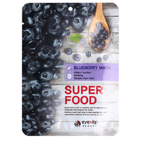 Eyenlip Super Food Blueberry Mask - Маска на тканевой основе (черника) 23 мл