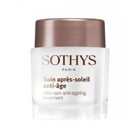 Sothys Sun Care After-Sun Anti-Ageing Treatment - Восстанавливающий омолаживающий крем для лица после инсоляции 15 мл