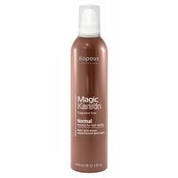 Kapous Magic Keratin Mousse For Hair Styling Normal Fixation - Мусс для укладки волос нормальной фиксации с кератином 400 мл
