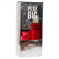 "Sexy Hair Spray & Play Harder Firm Volumizing Hairspray, Powder Play - Набор ""спрей для дополнительного объема и пудра для объема и текстуры"""