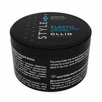 Ollin Style Elastic - Стайлинг-паста средней фиксации 65 г