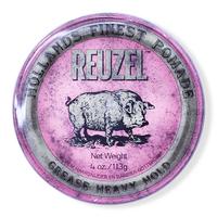 Reuzel Grease Heavy Hold - Помада сильной фиксации и средний блеск 113 г