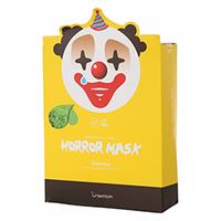 Berrisom Horror Mask Series Pierrot - Маска тканевая с экстрактом зеленого чая 25 мл