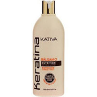 Kativa Keratina Conditioner - Кератиновый укрепляющий бальзам-кондиционер для всех типов волос 500 мл