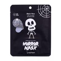 Berrisom Horror Mask Series Skull- Маска тканевая с экстрактом черного риса 25 мл