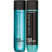 Matrix Total Results High Amplify - Новогодний набор для объема волос (шампунь 300 мл + кондиционер 300 мл)