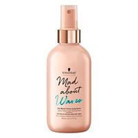 Schwarzkopf Mad About Waves Sea Blend Texturizing Spray - Текстурирующий спрей для объема волнистых волос 200 мл