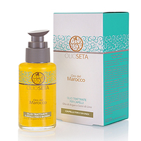 Barex Olioseta Oro del Marocco Oil Treatment Blonde-Fine Hair - Масло Блонд-уход с маслом арганы и маслом семян льна 100 мл