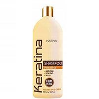 Kativa Keratina Shampoo - Кератиновый укрепляющий шампунь для всех типов волос 500 мл