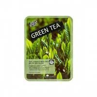 May Island Real Essence Green Tea Mask Pack - Маска для лица тканевая 25 мл