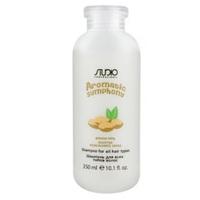 Kapous Studio Professional Aromatic Symphony Shampoo - Шампунь для всех типов волос «молочко миндального ореха» 350 мл
