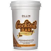 """Ollin Cocktail Bar Conditioner Chocolate Cocktail - Крем-кондиционер для волос """"шоколадный коктейль"""" объём и шелковистость волос 500 мл"""