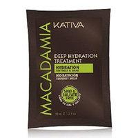 Kativa Macadamia Mask Salt & Sulfate Free - Интенсивно увлажняющий уход для волос 35 г