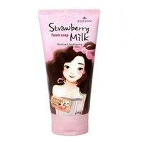 Mukunghwa Rossom Milk Foam Soap Strawberry - Пенка для умывания (клубника) 150 мл